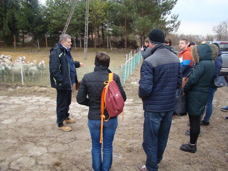 Uczniowie z Zespołu Szkół w Różańcu z wizytą w Werbkowicach