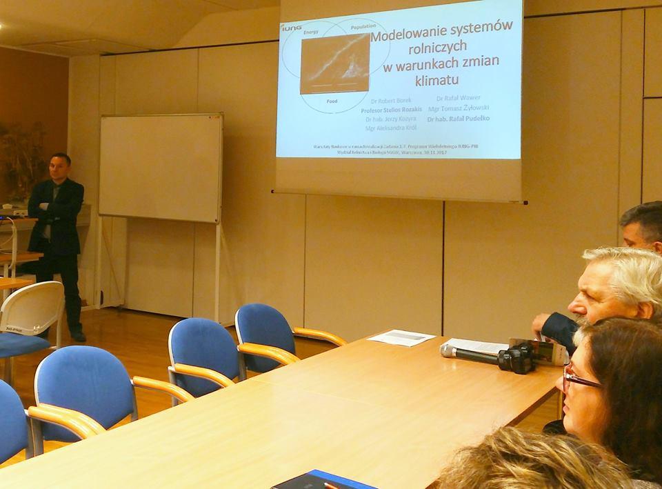 """Konferencja """"Modelowanie systemów rolniczych w warunkach zmian klimatu"""""""