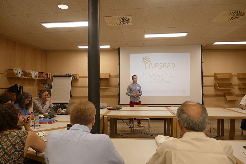 Wizyta studyjna we Francji w ramach projektu LIVESEED