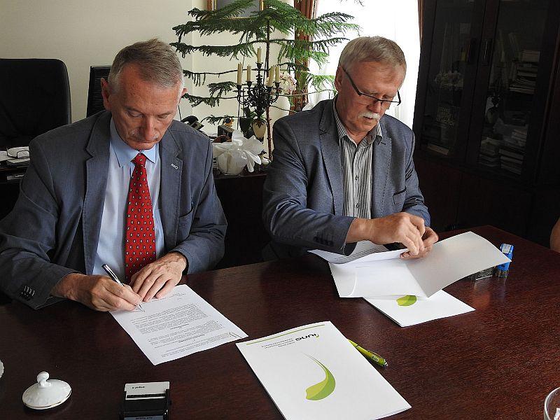 Podpisanie umowy dotyczącej utworzenia Krajowego Ośrodka Praktycznego Szkolenia oraz Transferu Wiedzy Rolniczej.