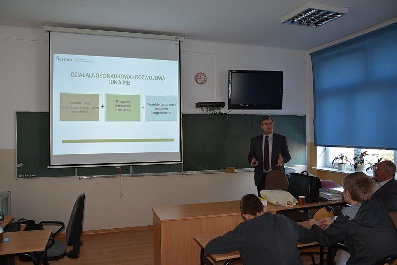 """Warsztaty naukowe """"Formy i kierunki współpracy IUNG-PIB ze szkołami i praktyką rolniczą"""""""