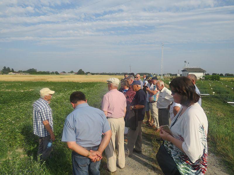 Wizyta rolników i doradców z województwa podlaskiego