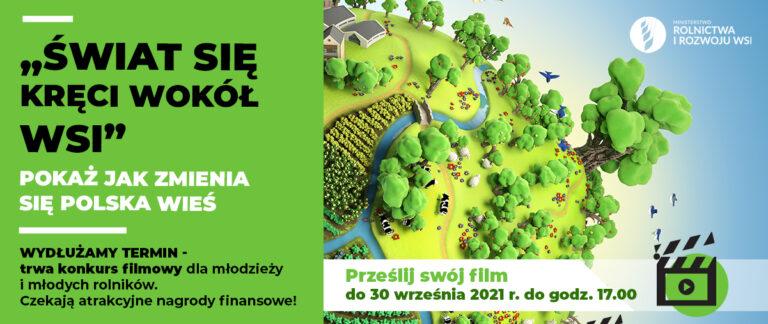 Świat się kręci wokół wsi - konkurs filmowy MRiRW